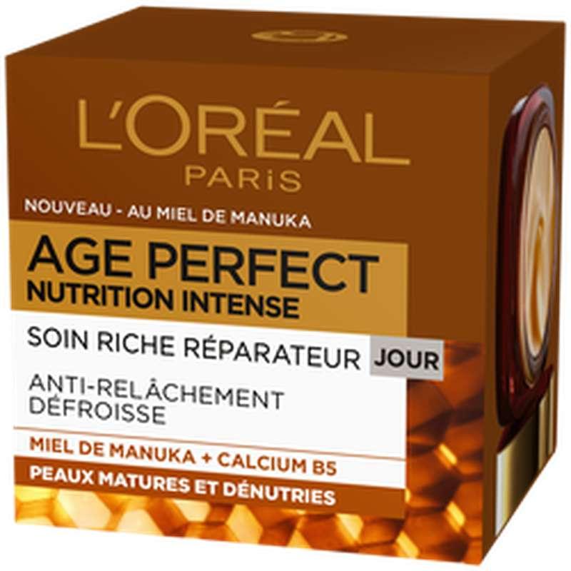 Soin anti-âge nutrition intense, L'Oréal (50 ml)