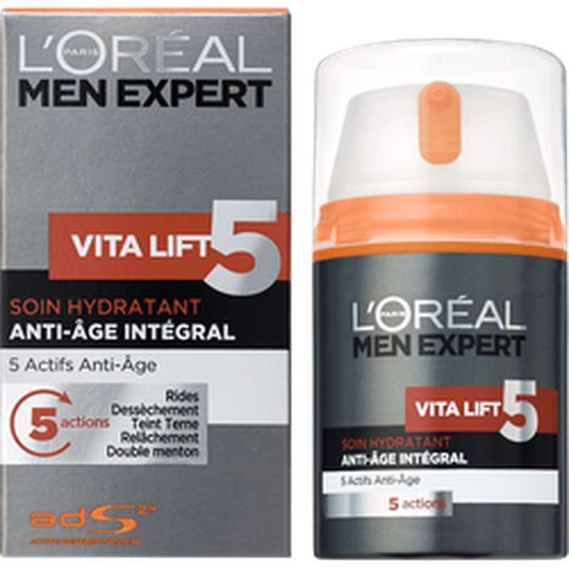 Soin visage Vitalift pour homme, L'Oréal (50 ml)