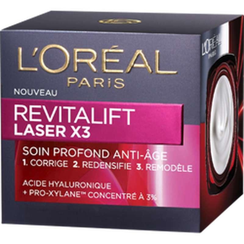 Soin anti-rides de jour Revitalift Laser, L'Oréal (50 ml)