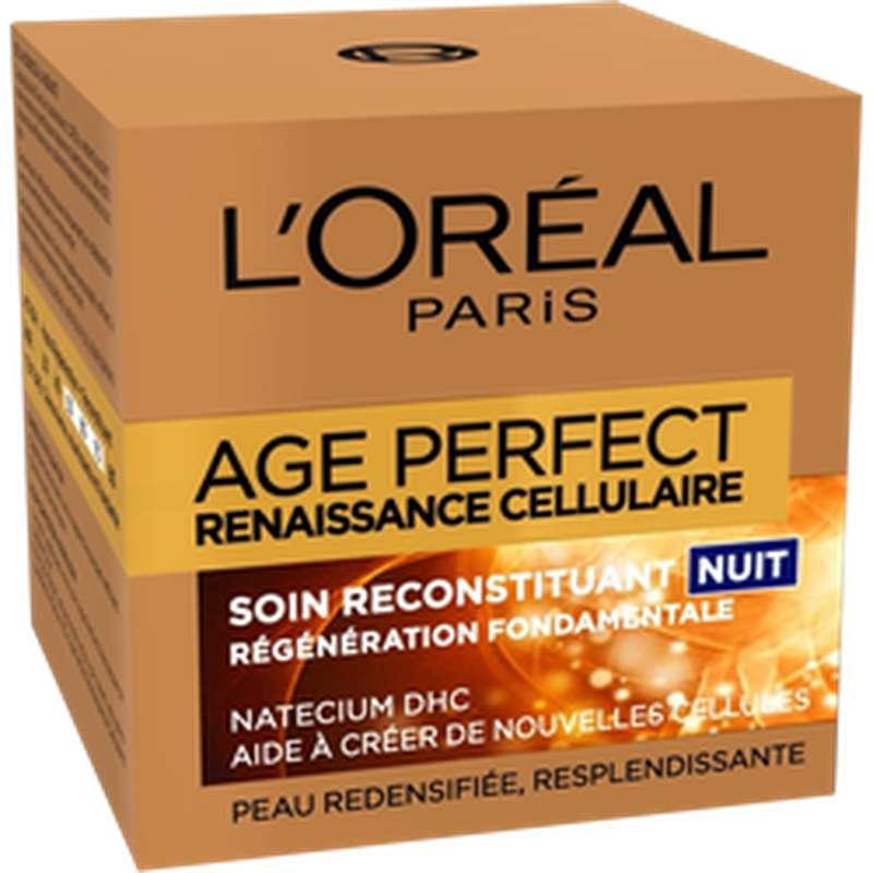 Soin de nuit Age Perfect renaissance cellulaire, L'Oréal (50 ml)