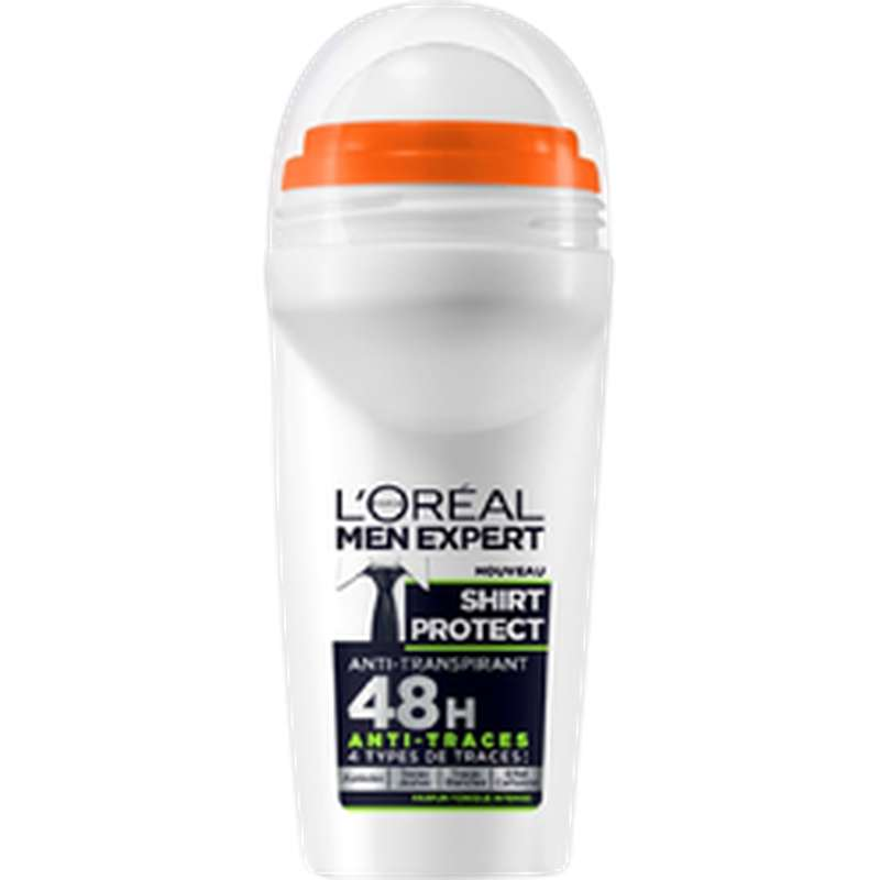 Déodorant anti-transpirant shirt protect, L'Oréal (50 ml)