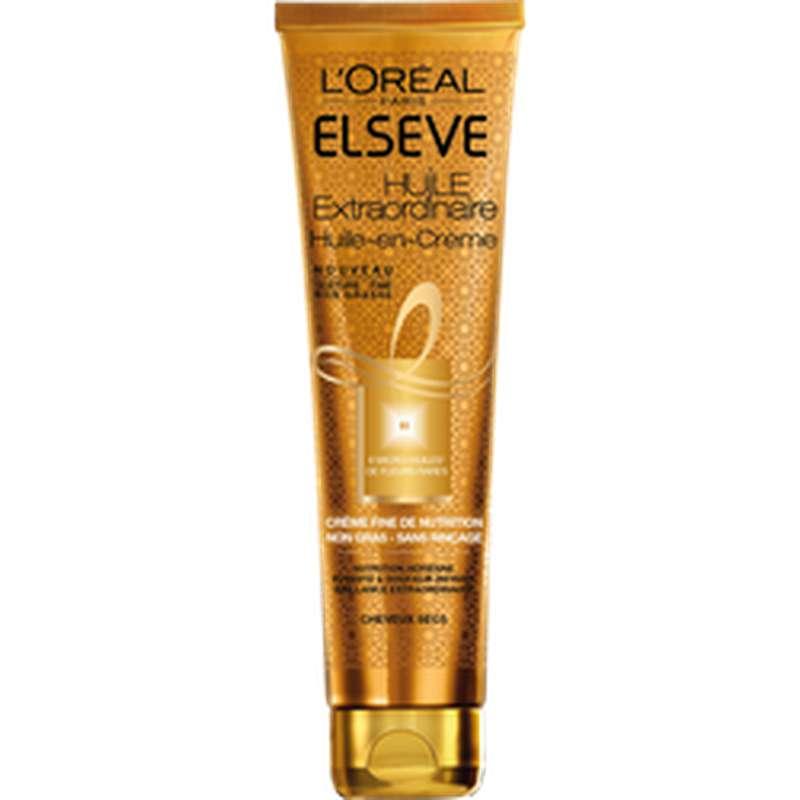 Huile Extraordinaire crème cheveux secs, Elseve (150 ml)
