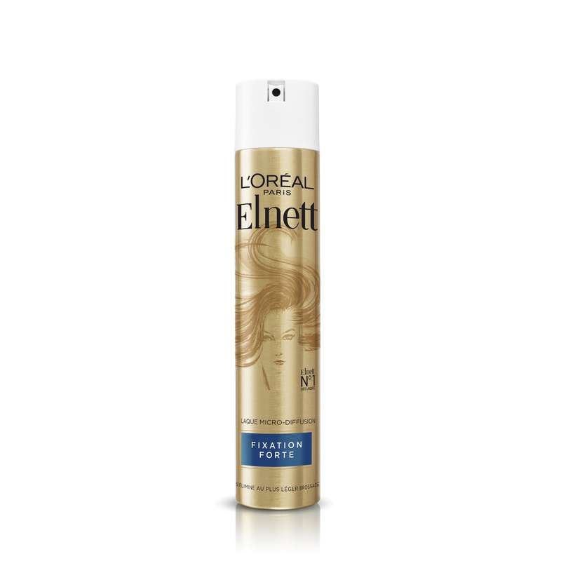 Laque fixation forte Elnet, l'Oréal Paris (300 ml)
