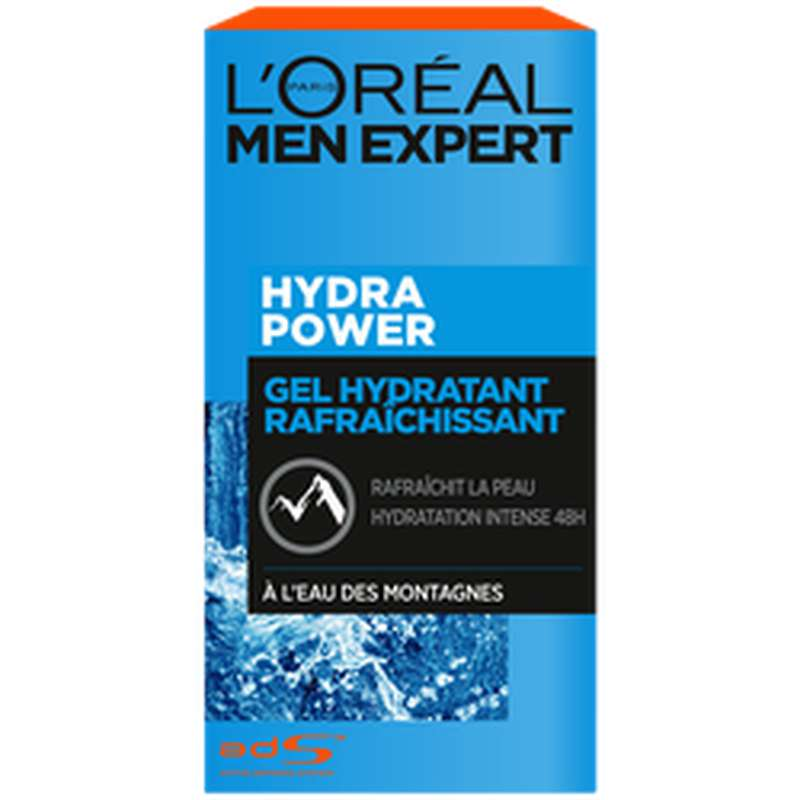 Soin hydra power rafraîchissant, L'Oréal Men (50 ml)