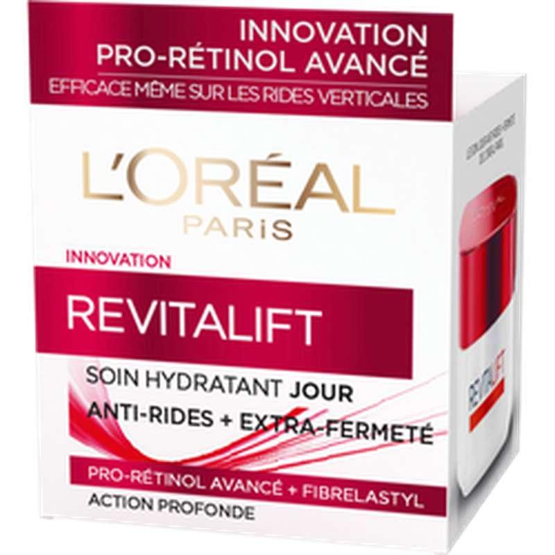 Crème de soin de jour hydratant pro-rétinol revitalift, L'Oréal (50 ml)