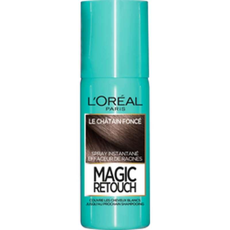 Spray effaceur de racines Magic Retouch - châtain foncé n°2, L'Oréal (75 ml)