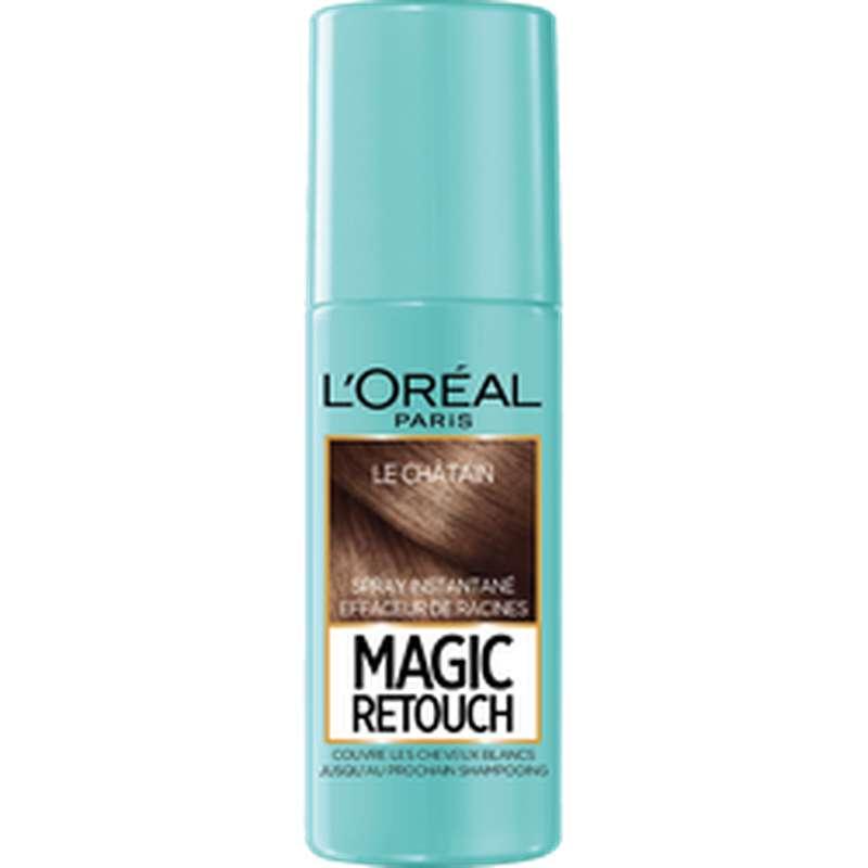 Spray effaceur de racines Magic Retouch - châtain n°3, L'Oréal (75 ml)