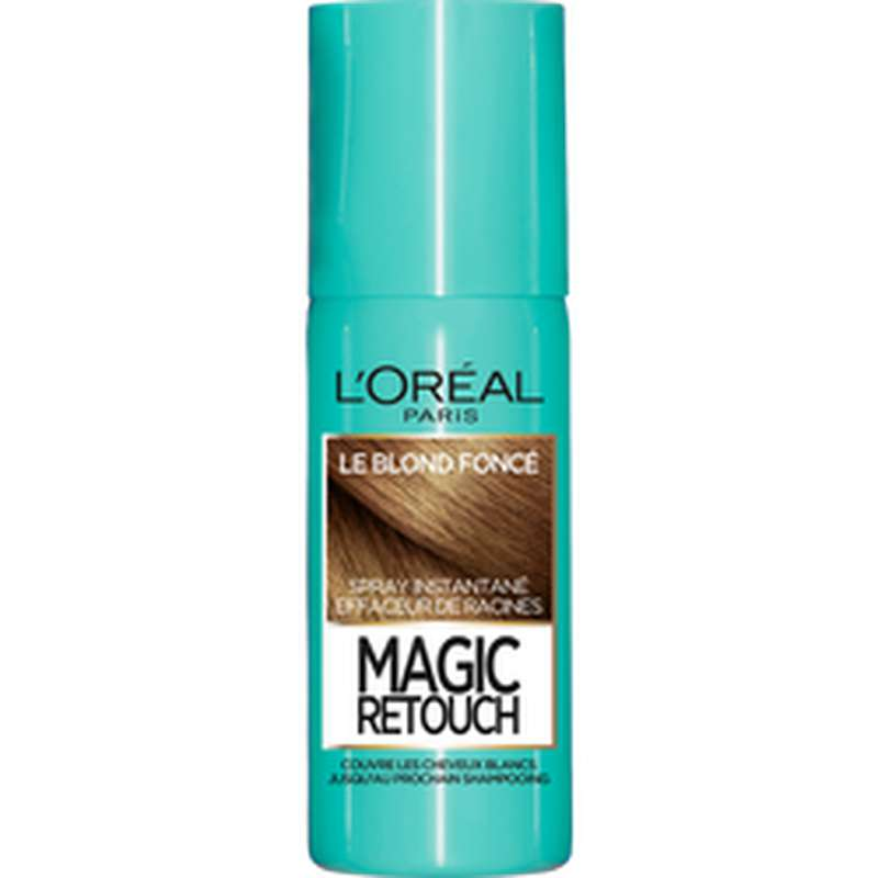 Spray effaceur de racines Magic Retouch - blond foncé n°4, L'Oréal (75 ml)
