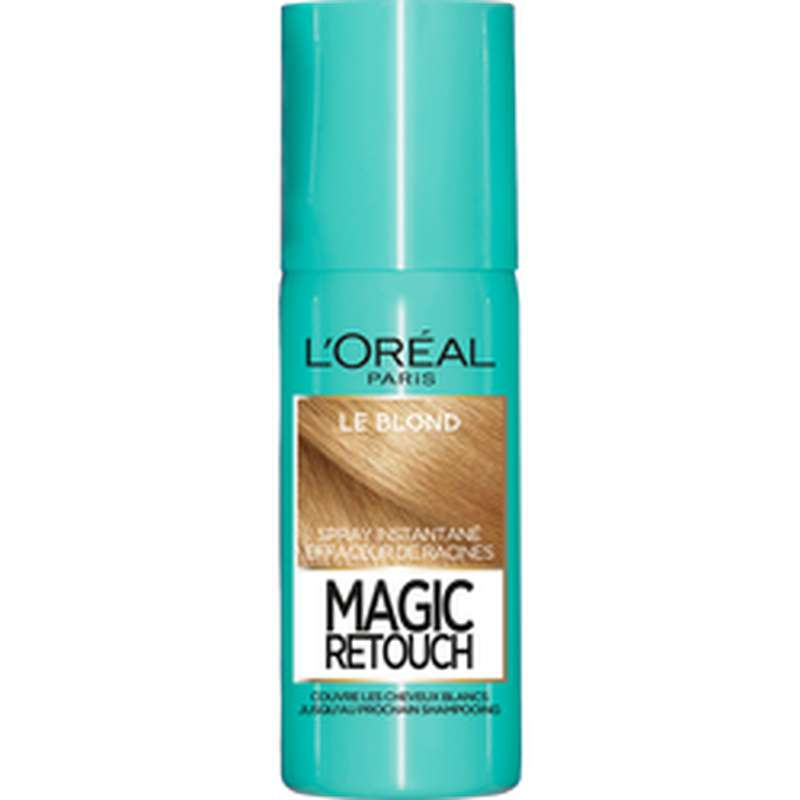 Spray effaceur de racines Magic Retouch - blond n°5, L'Oréal (75 ml)