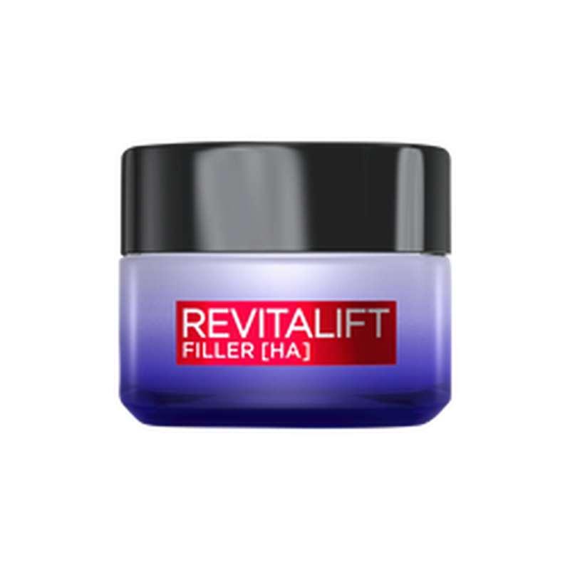 Soin de nuit revolumisant anti-âge Revitalift Filler, L'Oréal (50 ml)