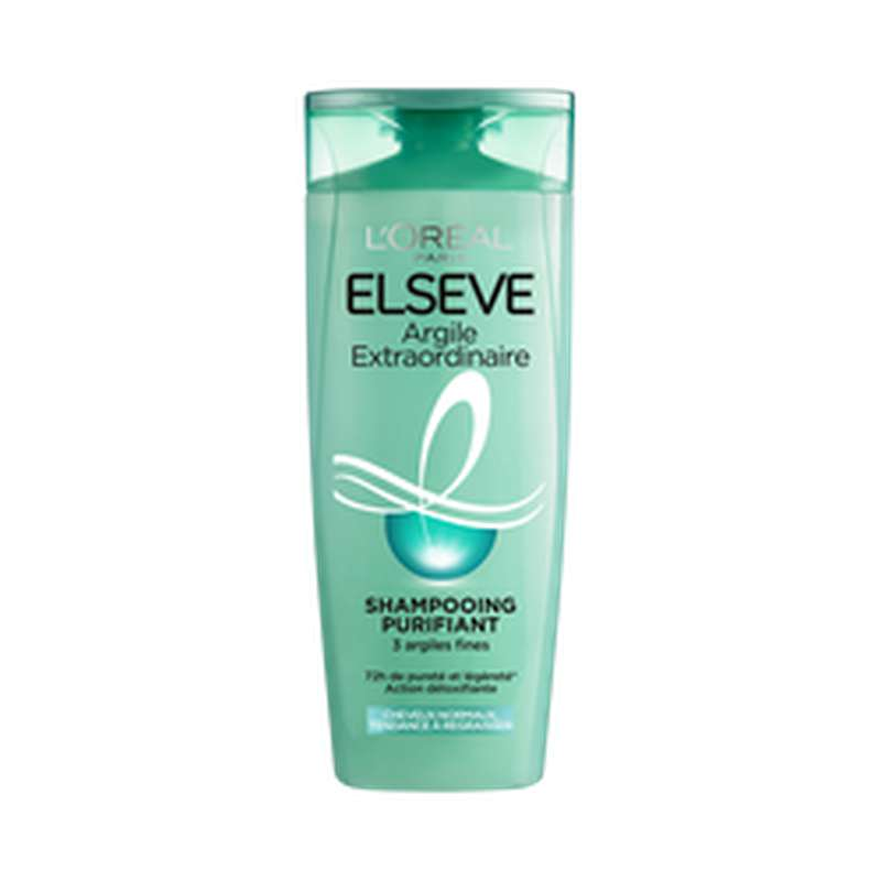 Shampoing à l'argile extra, Elseve (250 ml)