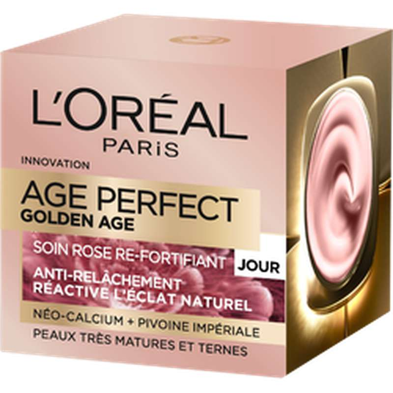 Soin jour Age Perfect Golden re-fortifiant, L'Oréal (50 ml)