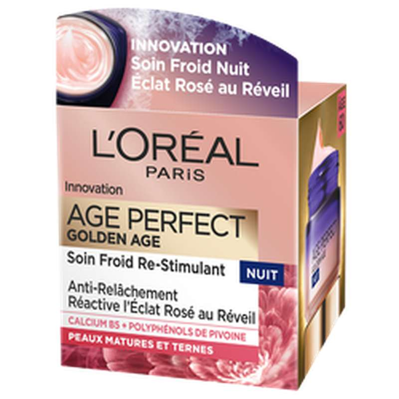 Soin nuit Age Perfect Golden Age, L'Oréal (50 ml)