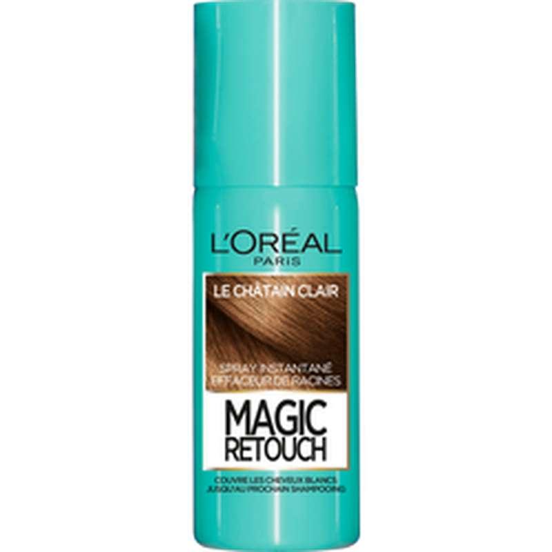 Spray effaceur de racines Magic Retouch - châtain clair n°10, L'Oréal (75 ml)