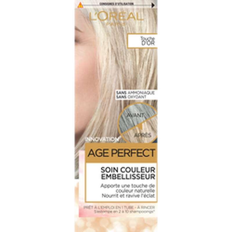 Soin couleur embelliseur Age Perfect, L'Oréal (x 1)