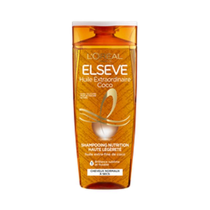 Shampoing huile extraordinaire cheveux normaux, Elseve (250 ml)