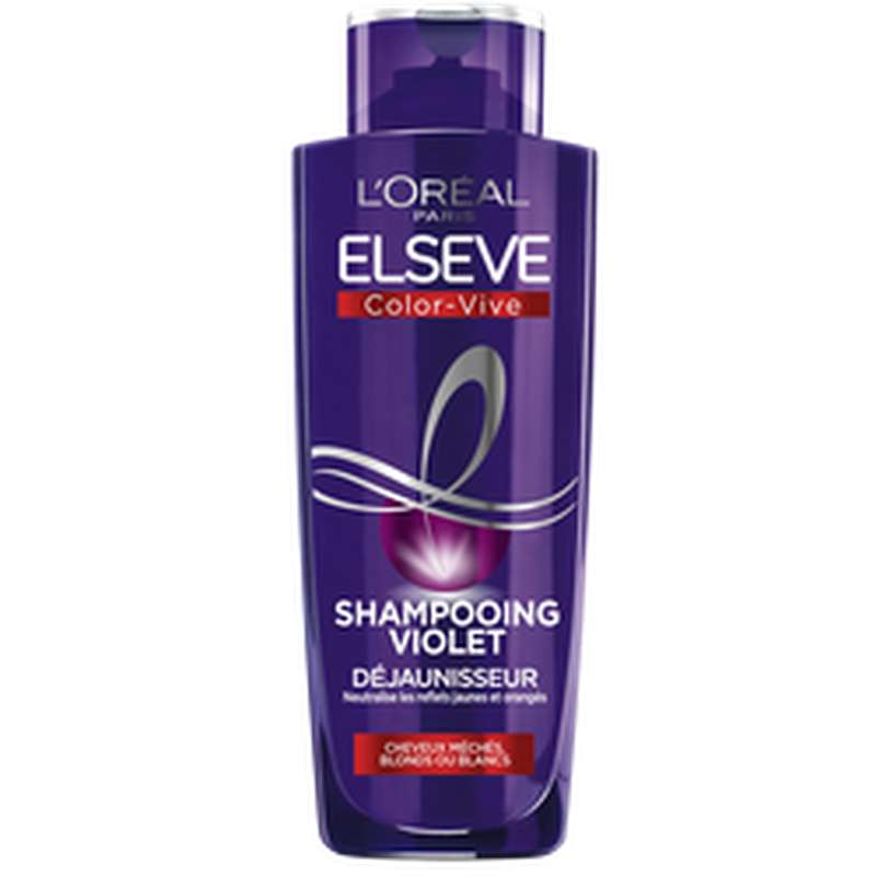 Shampoing color vive purple, Elseve (200 ml)