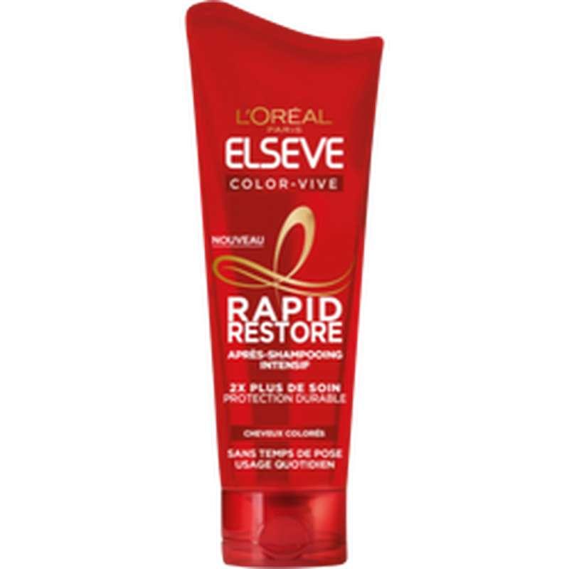Après-shampoing rapide Color vive, Elseve (180 ml)