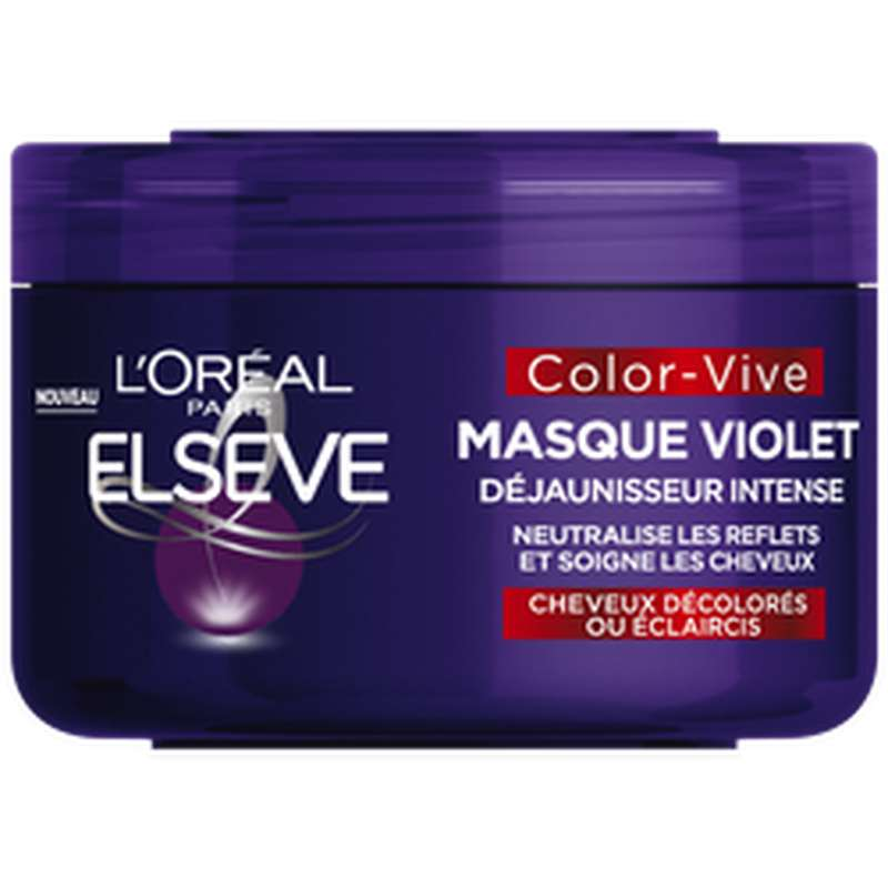 Masque Color Vive Ultra-violet, Elseve (250 ml)