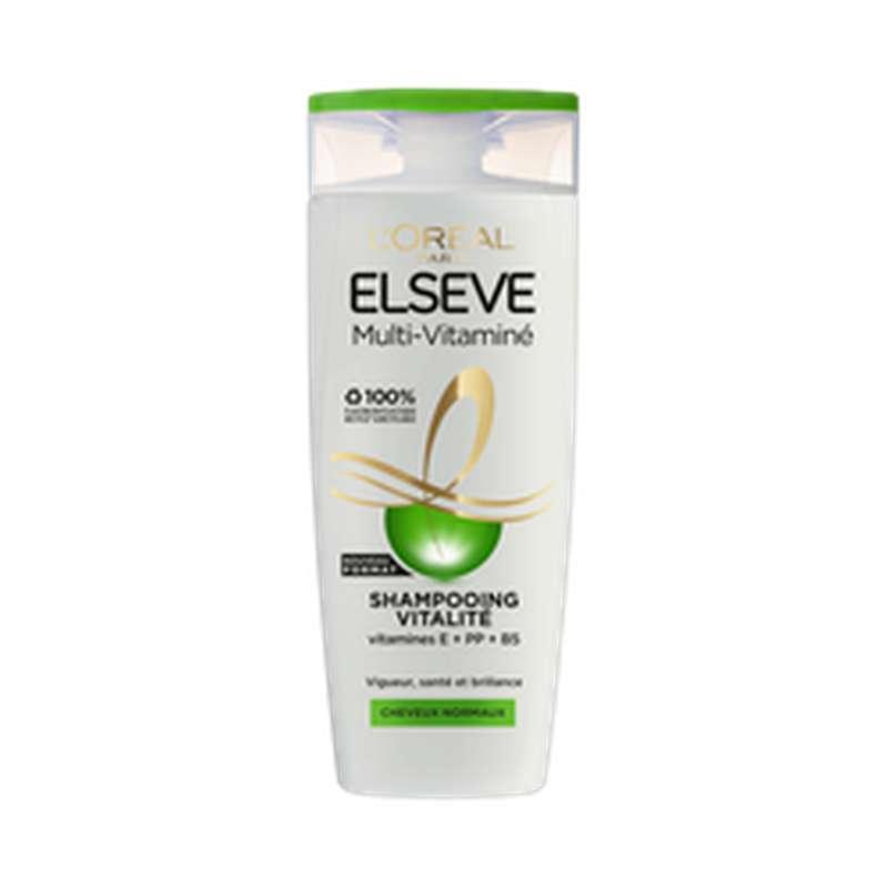 Shampoing multivitaminée, Elseve (290 ml)