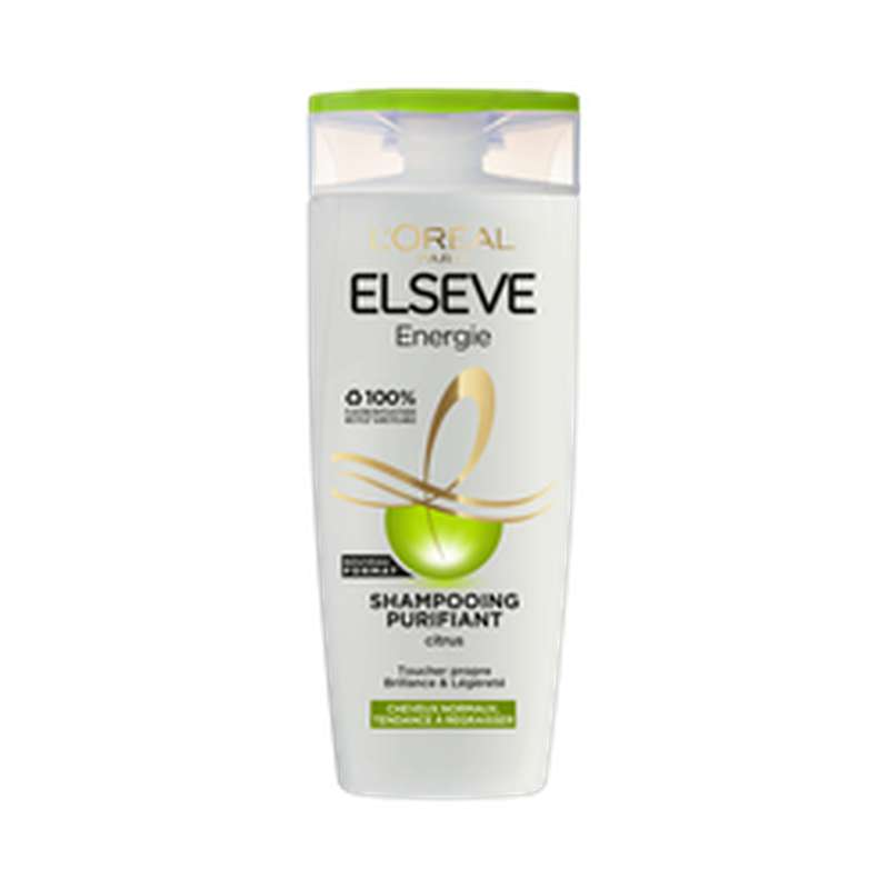 Shampoing citrus, Elseve (290 ml)