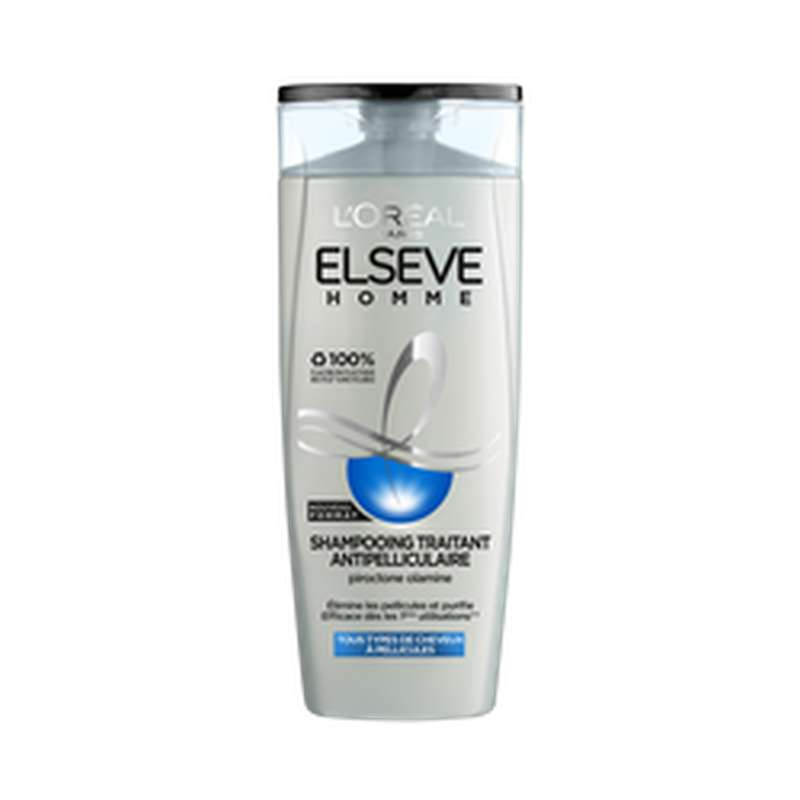 Shampoing anti-pelliculaire homme, Elseve (290 ml)