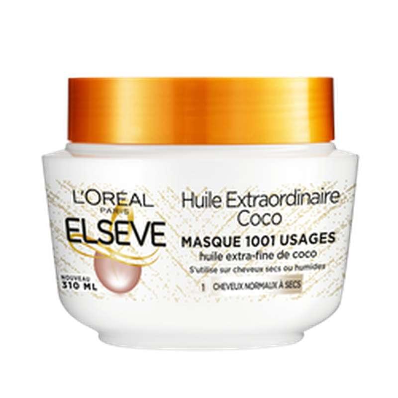 Masque Huile Extraordinaire Coco, Elseve (310 ml)