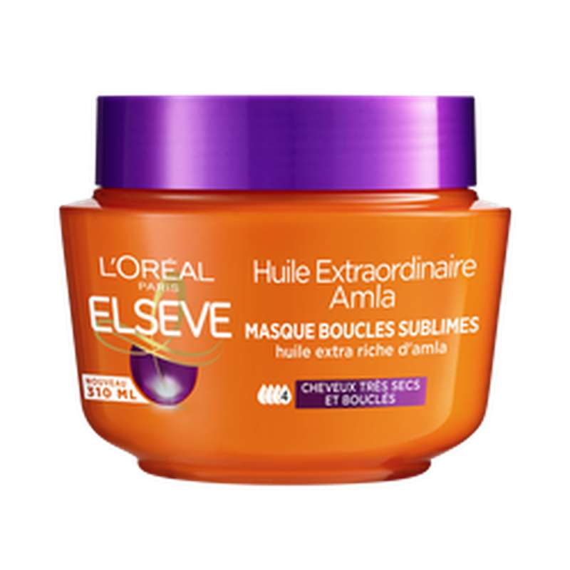 Masque Curl Nutrition, Elseve (310 ml)