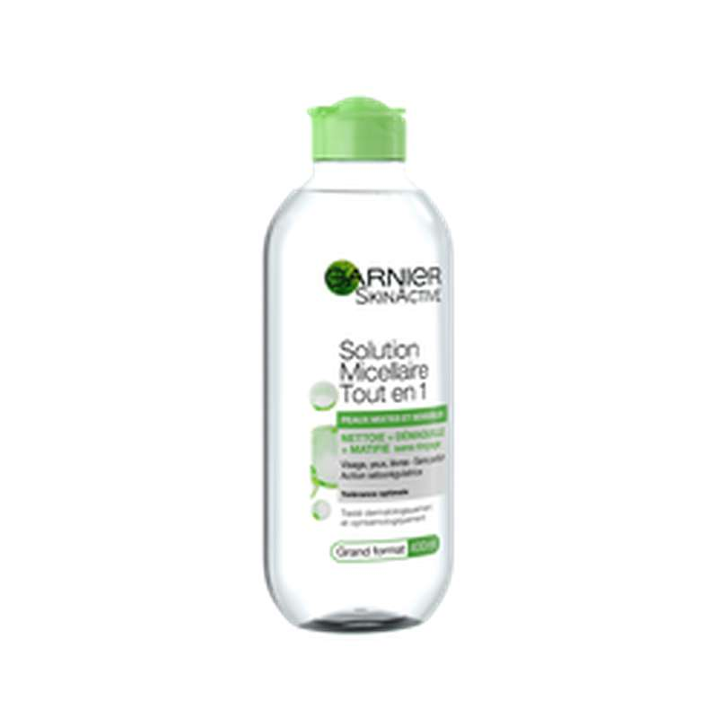 Solution micellaire pure active, Garnier (400 ml)