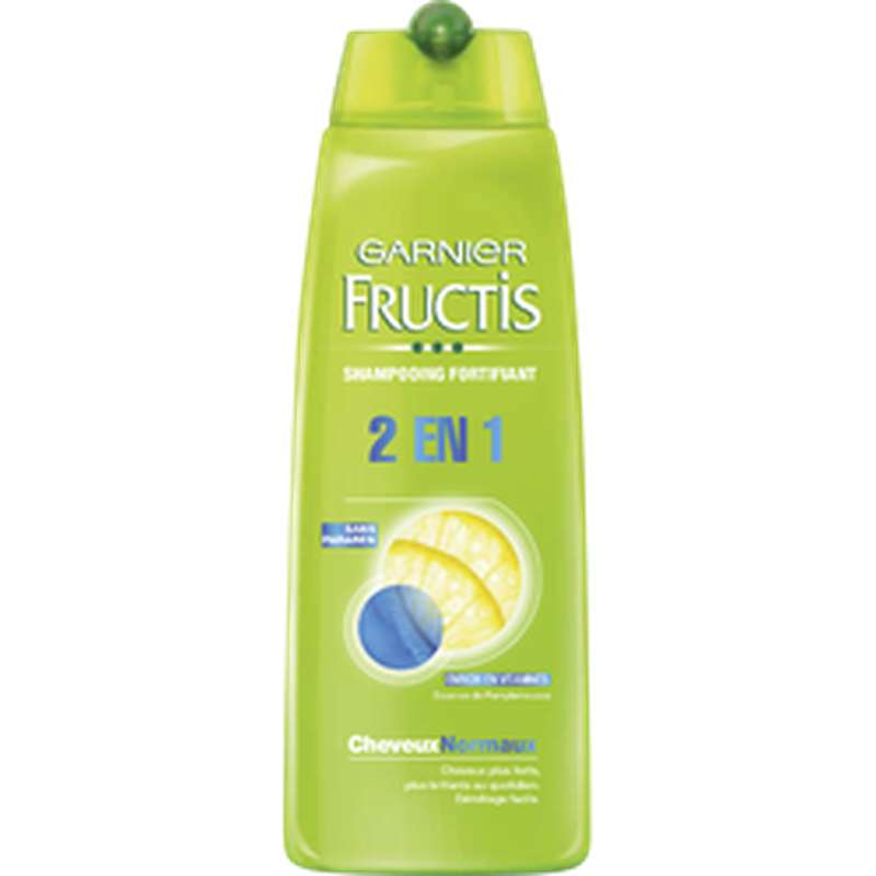 Shampoing 2 en 1 Cheveux Normaux, Fructis (250 ml)