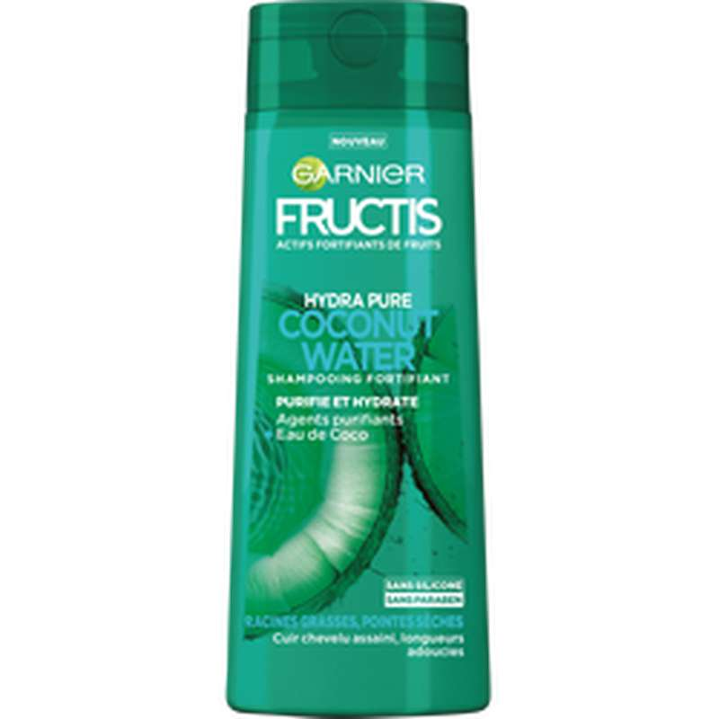 Shampoing Coconut Water, Fructis (250 ml)