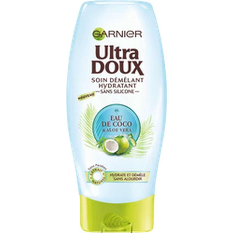 Après-shampoing eau de Coco et Aloé Vera, Ultra Doux  (200 ml)