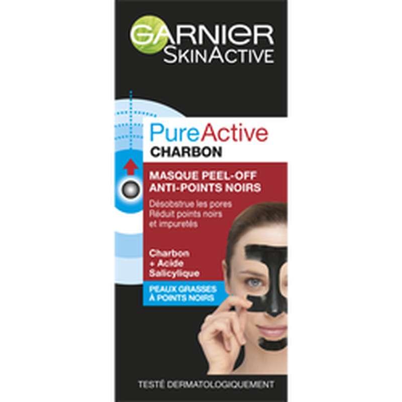 Masque peel-off anti-point noirs Pure Active, Garnier (50 ml)