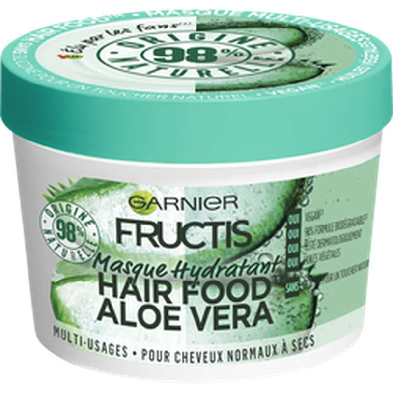 Masque hydratant hairfood Aloe Vera, Fructis (390 ml)