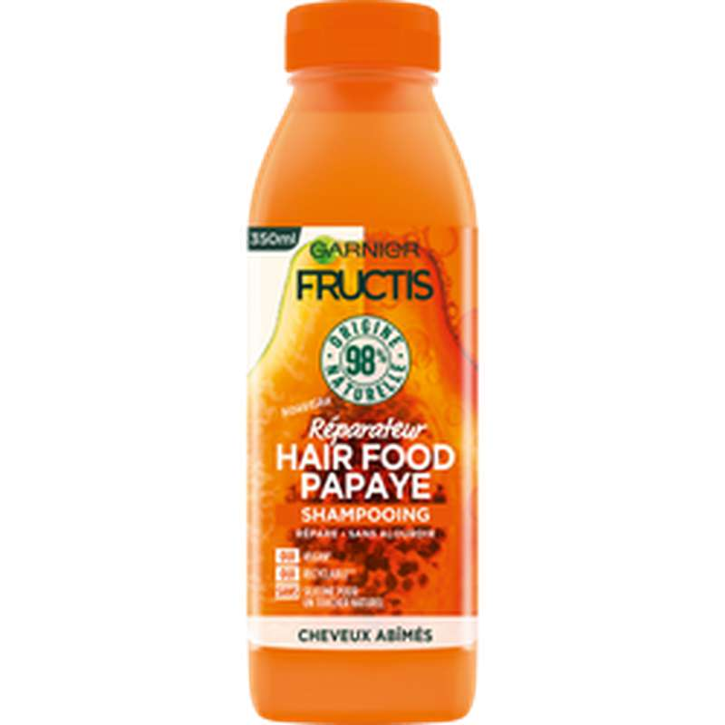 Shampoing hairfood papaye, Fructis (350 ml)