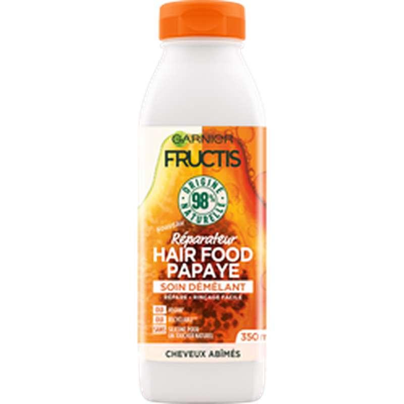 Après-shampoing hairfood papaye, Fructis (350 ml)