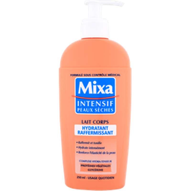 Lait pour le corps hydratant raffermissant intensif pour peaux sèches, Mixa (250 ml)