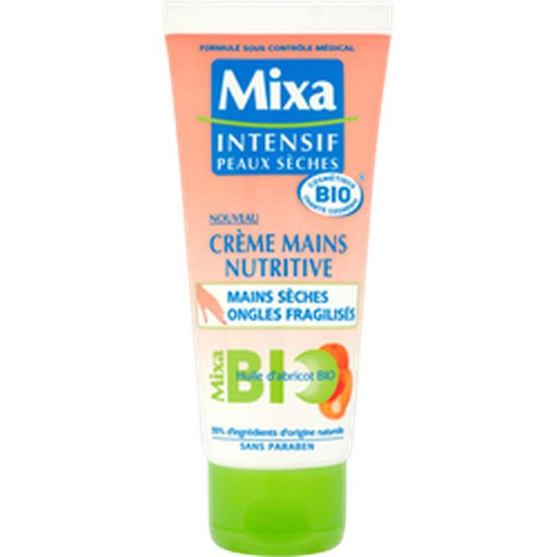 Crème mains et ongles peaux sèches BIO, Mixa (100 ml)