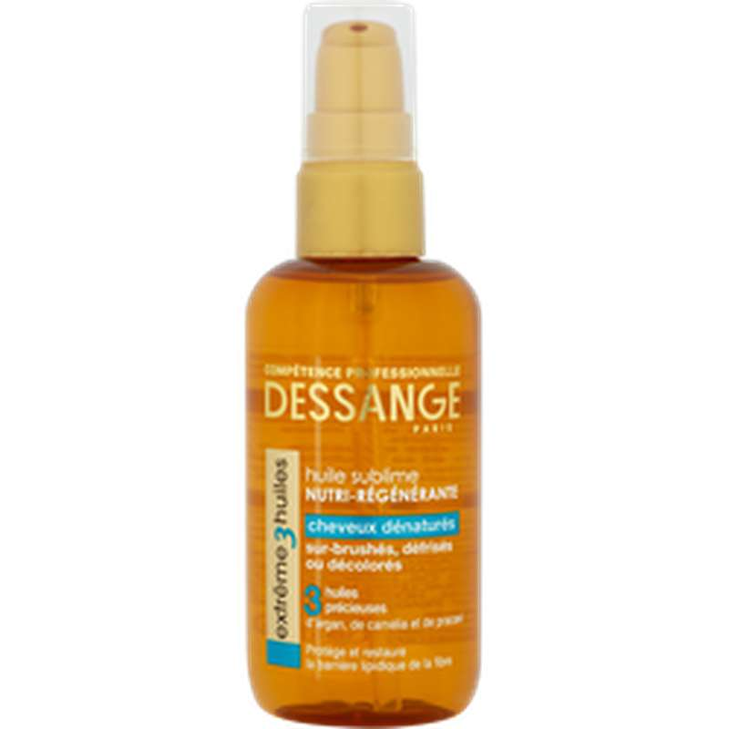 Soin sans rinçage Prodig'huile pour cheveux dénaturés, Jacques Dessange (100 ml)