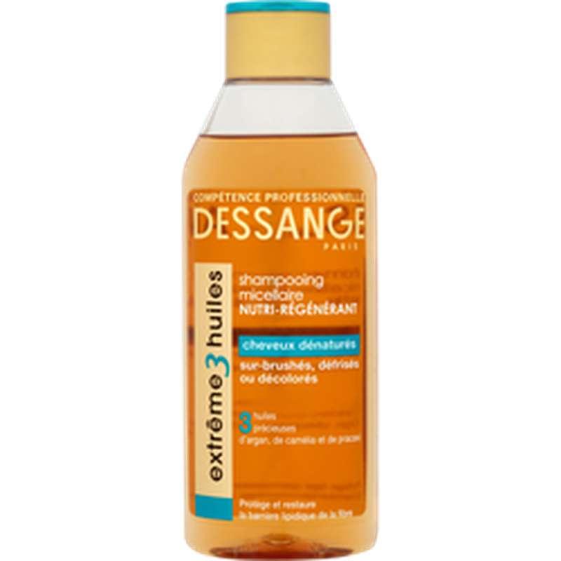 Shampoing prodigieux Huile Cheveux Denaturés, Dessange (250 ml)