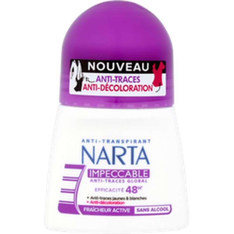 Déodorant anti-traces impéccable, Narta (50 ml)