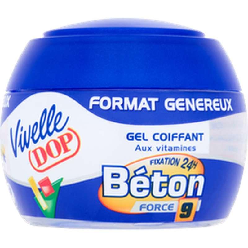 Gel coiffant fixation béton, Vivelle Dop (200 ml)
