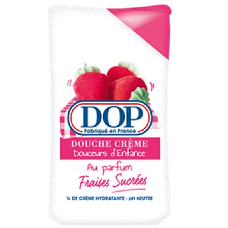 Gel douche douceurs d'enfance parfum fraises sucrées, Dop (250 ml)