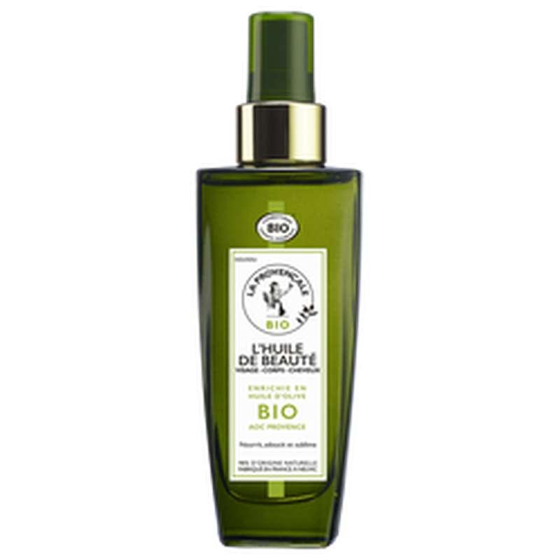 Huile de bienfaits corps cheveux et visage BIO, La Provencale (100 ml)