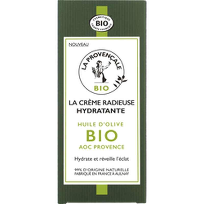 Crème radieuse hydratante BIO, La Provencale (50 ml)