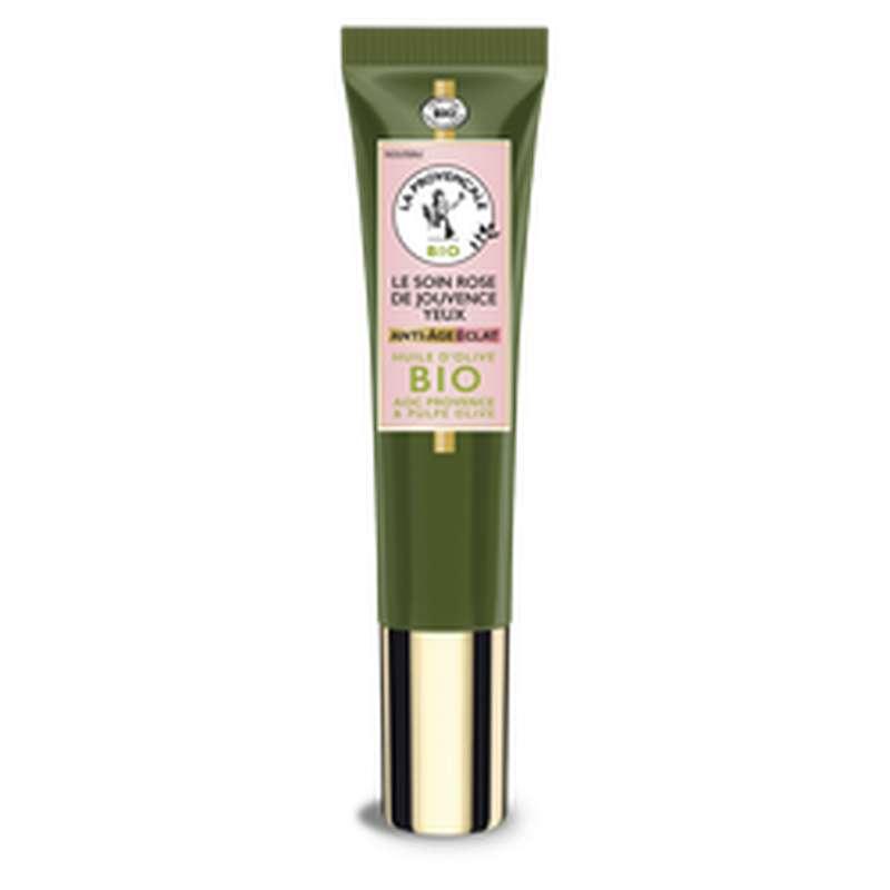 Soin yeux jouvence rose, La Provençale BIO (15 ml)