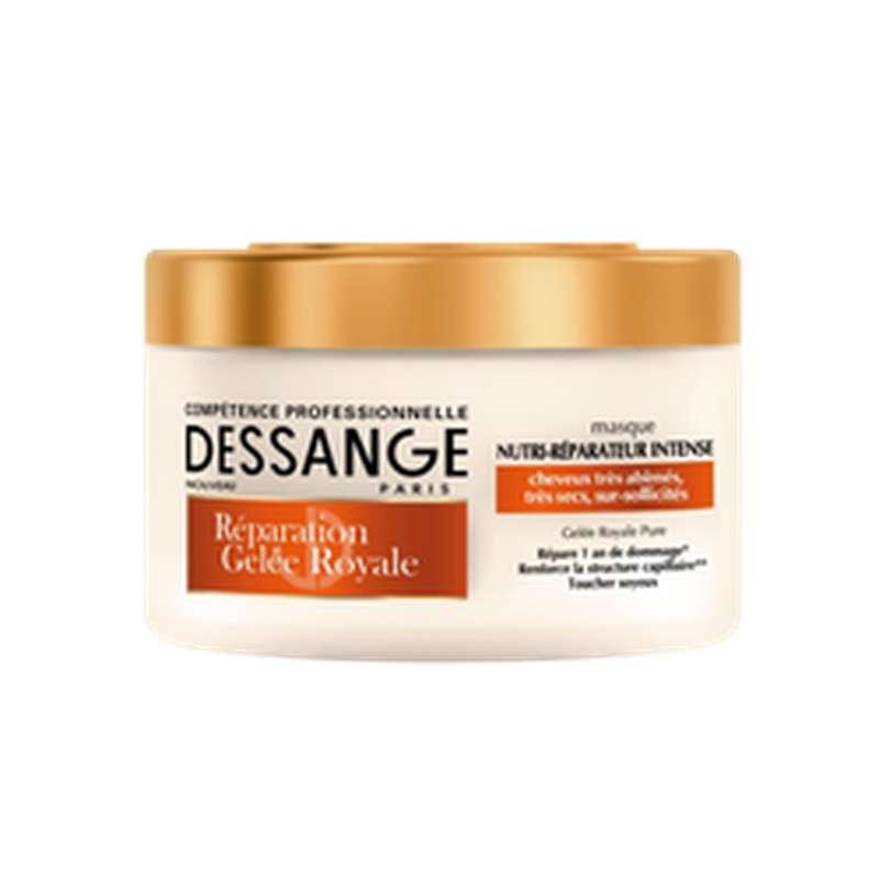 Masque soin sans rinçage gelée royale, Dessange (250 ml)