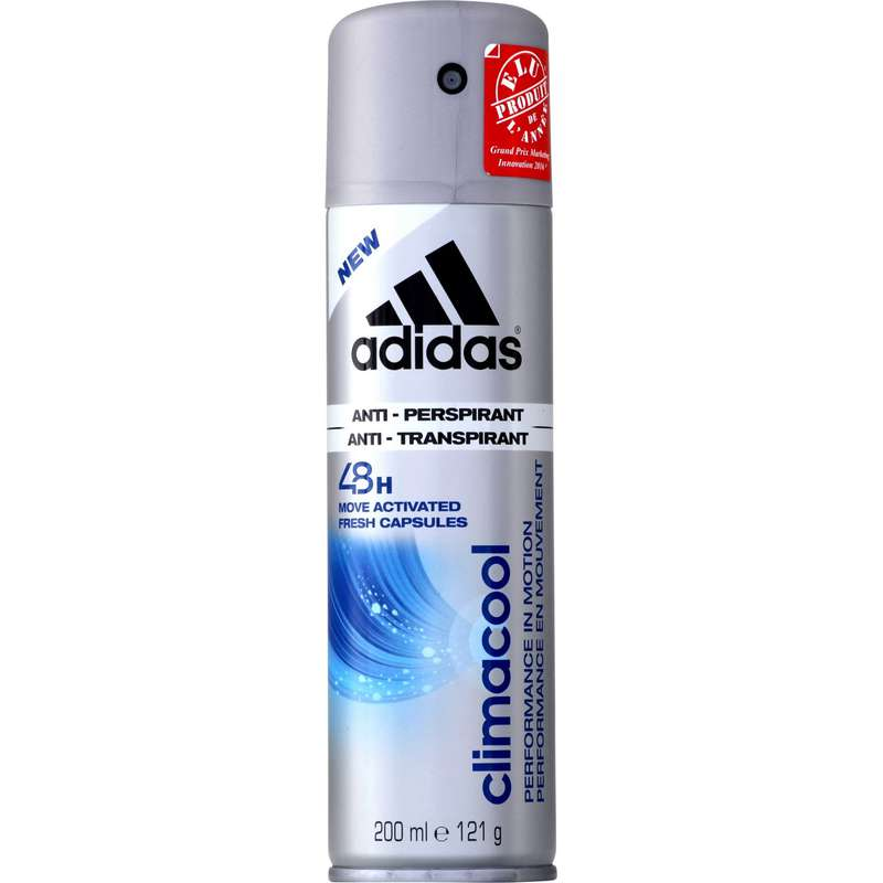 Déodorant anti-traces blanches, Adidas (200 ml)