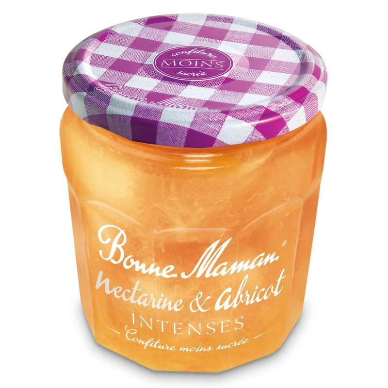 Confiture nectarine & abricot intense, Bonne Maman (335 g)