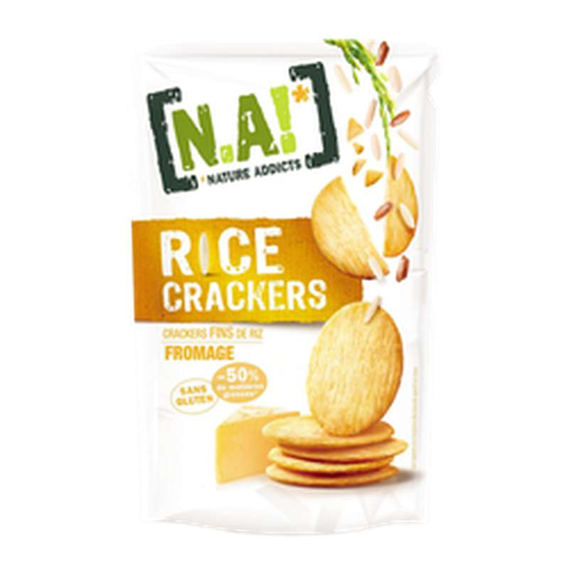 Rice Crackers Saveur Fromage, N.a! (70 g)